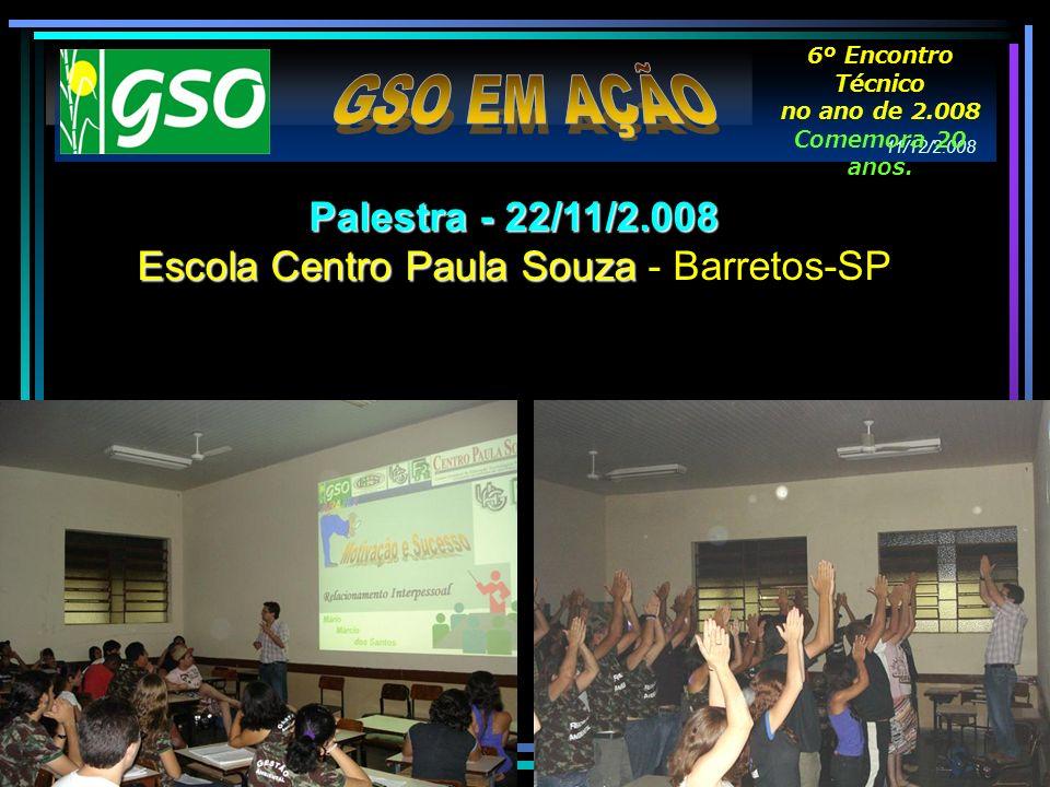 Escola Centro Paula Souza - Barretos-SP