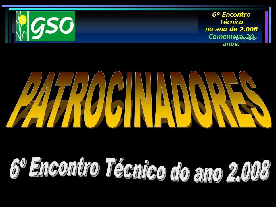 6º Encontro Técnico do ano 2.008