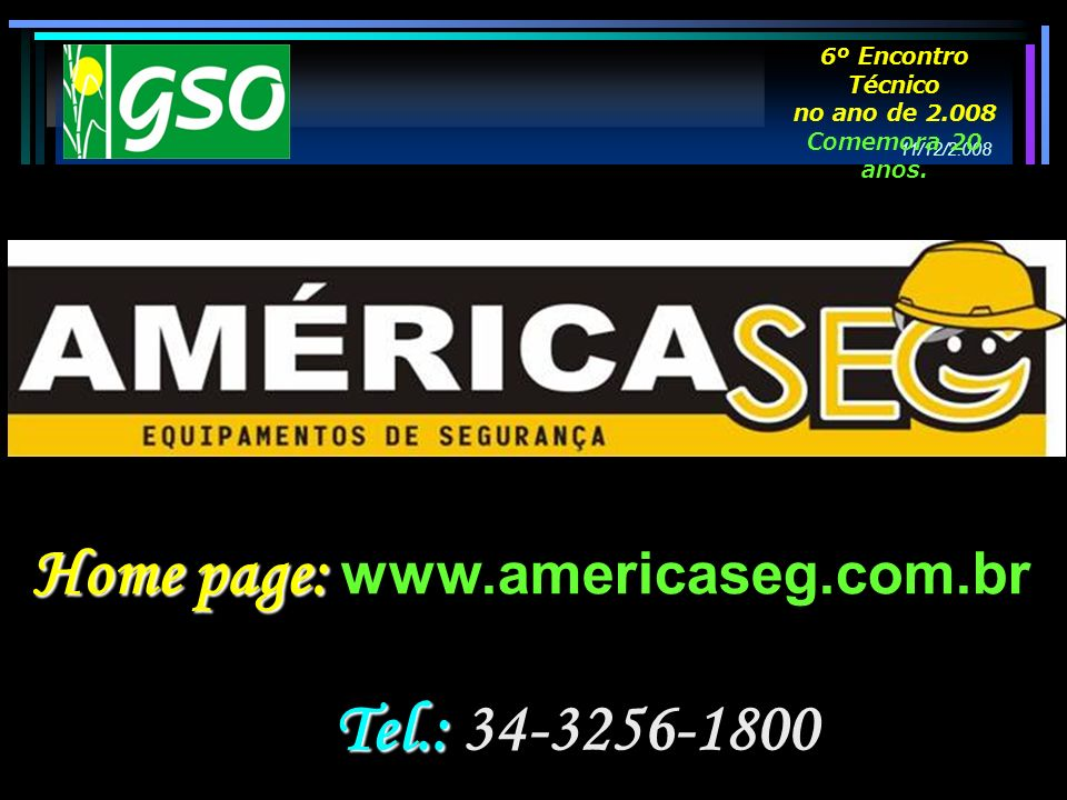 Home page: www.americaseg.com.br