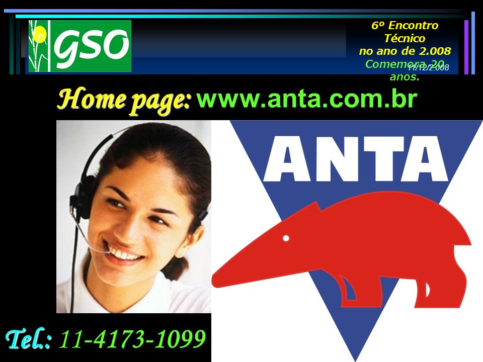 Home page: www.anta.com.br