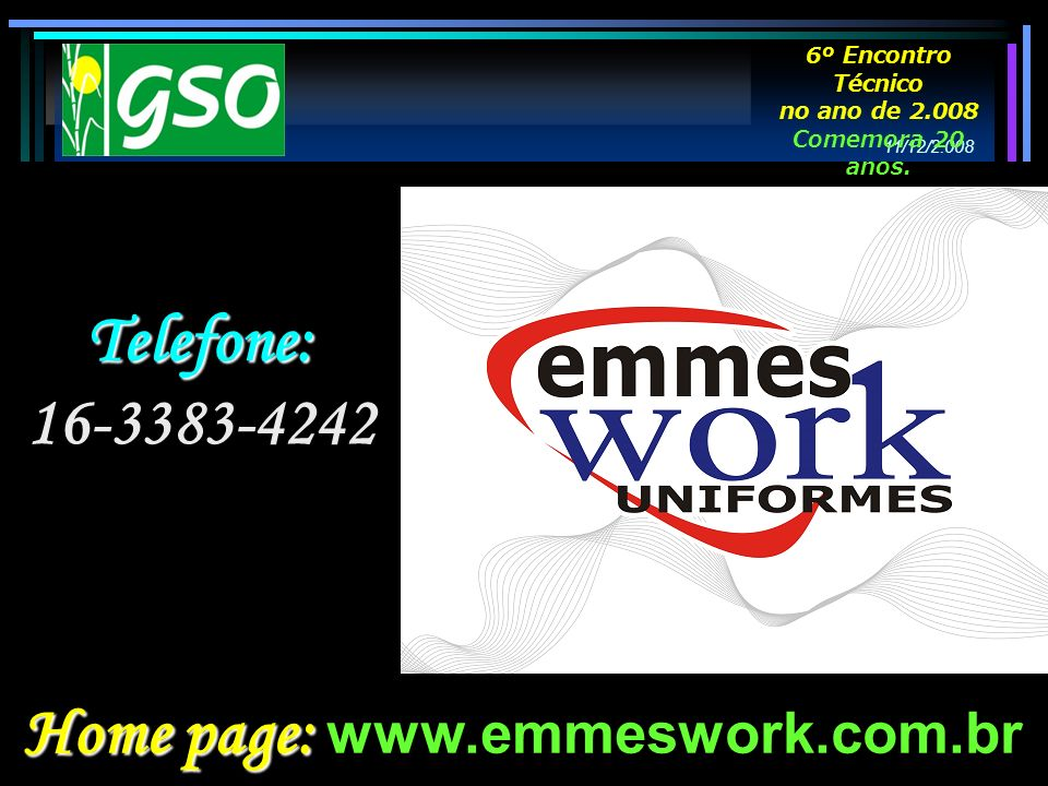 Home page: www.emmeswork.com.br