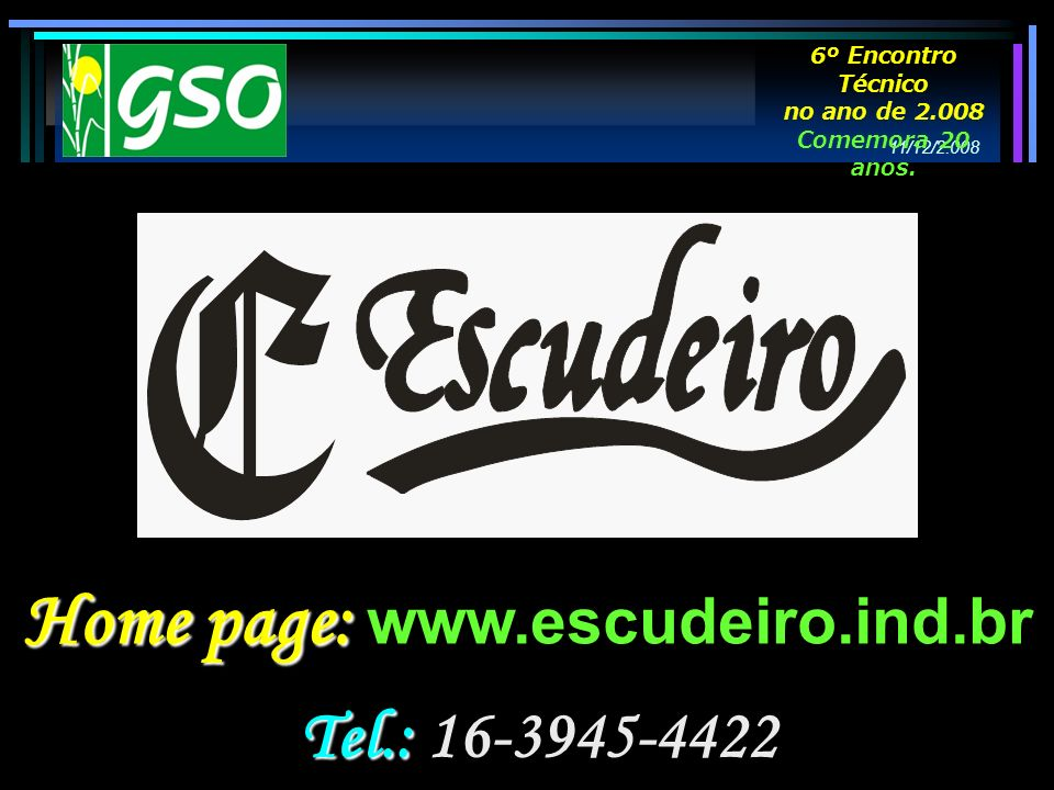 Home page: www.escudeiro.ind.br