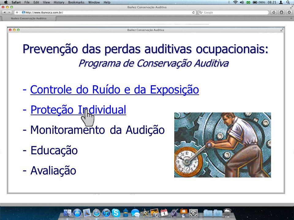 Programa de Conservação Auditiva
