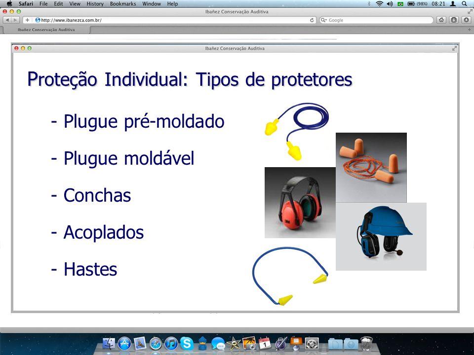 Proteção Individual: Tipos de protetores
