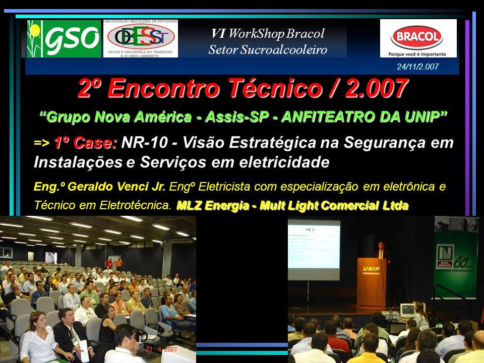 Grupo Nova América - Assis-SP - ANFITEATRO DA UNIP
