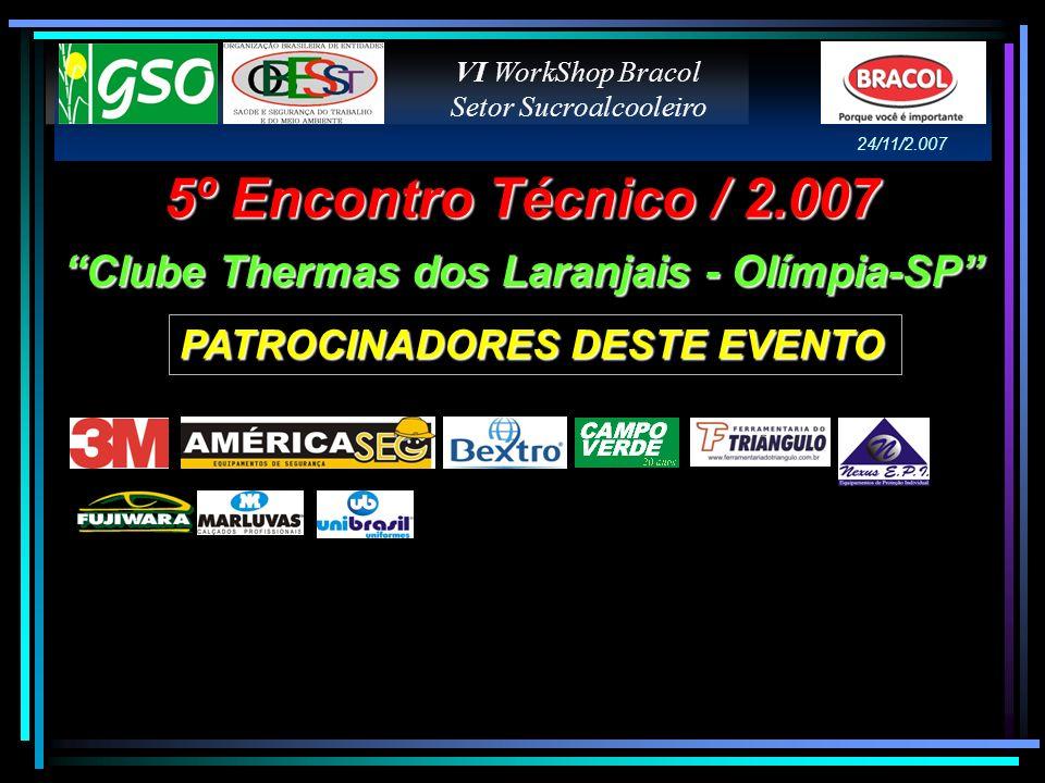 Clube Thermas dos Laranjais - Olímpia-SP