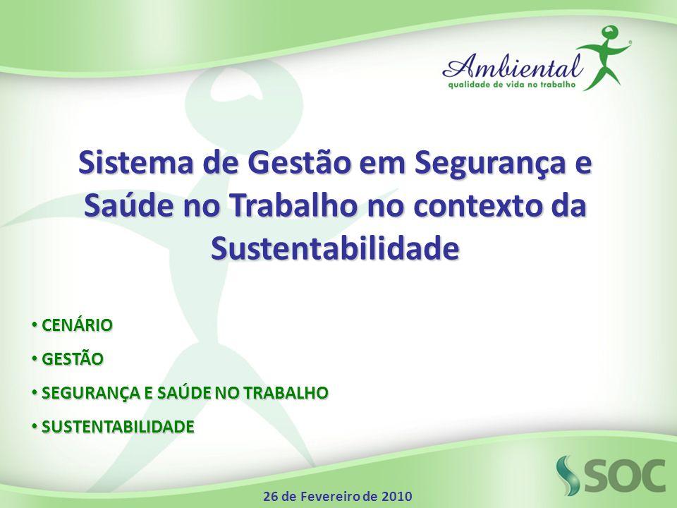 Sistema de Gestão em Segurança e Saúde no Trabalho no contexto da Sustentabilidade