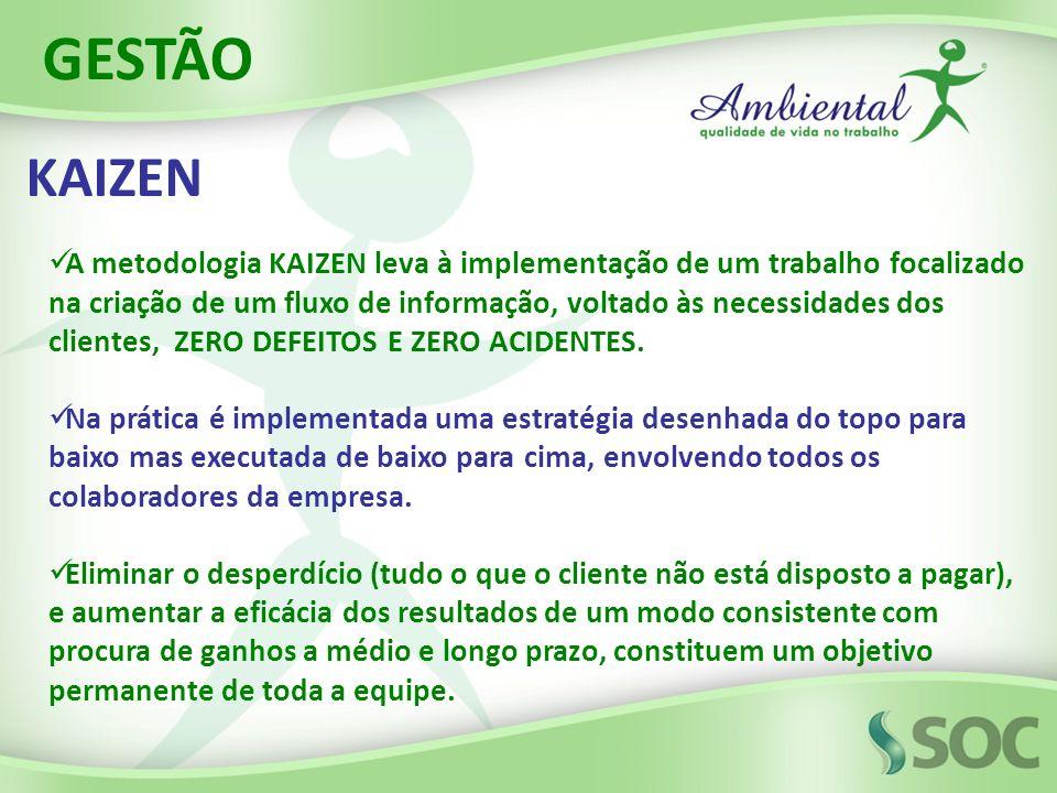 GESTÃO KAIZEN.