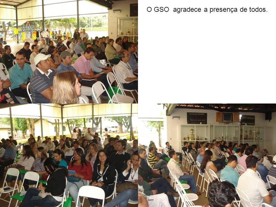 O GSO agradece a presença de todos.