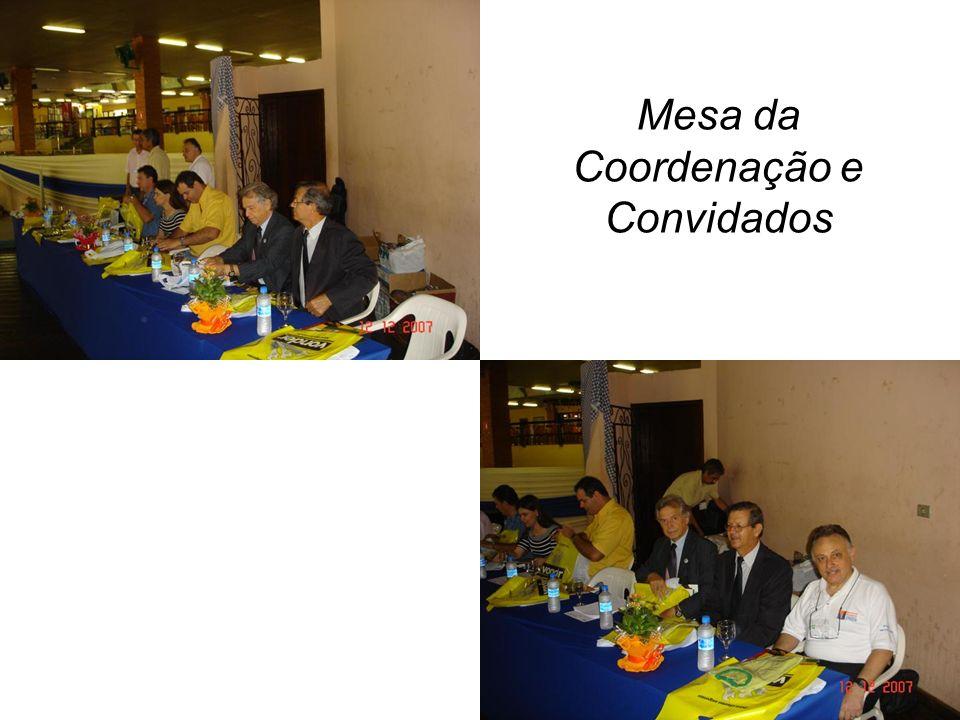 Mesa da Coordenação e Convidados