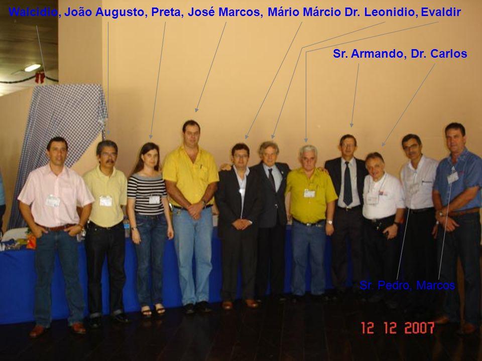 Walcidio, João Augusto, Preta, José Marcos, Mário Márcio
