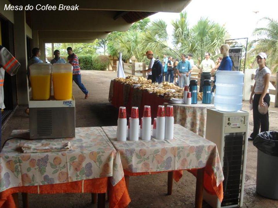 Mesa do Cofee Break