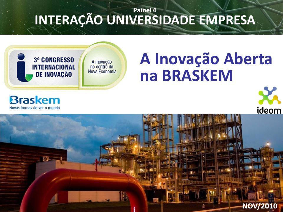 INTERAÇÃO UNIVERSIDADE EMPRESA