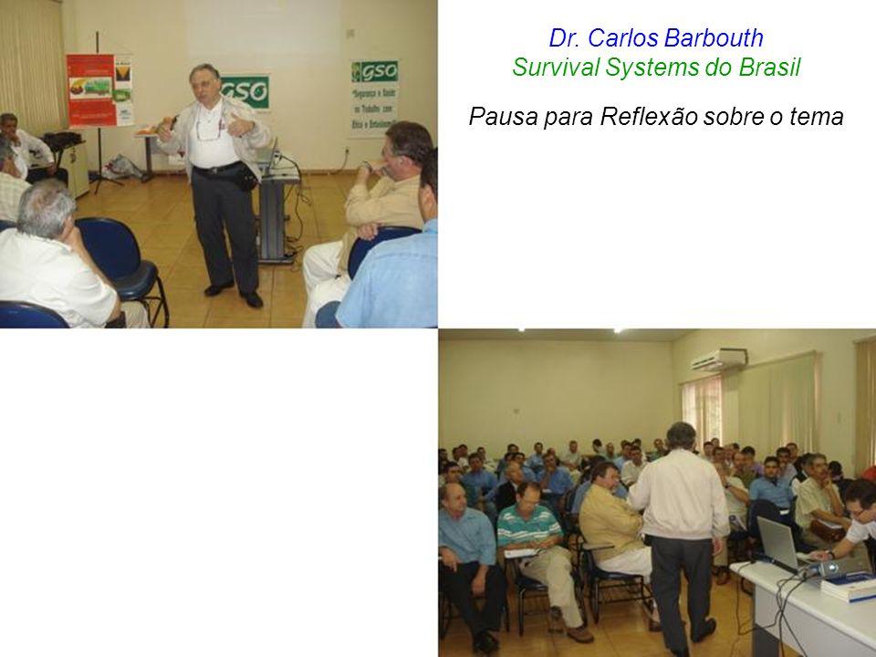 Survival Systems do Brasil Pausa para Reflexão sobre o tema