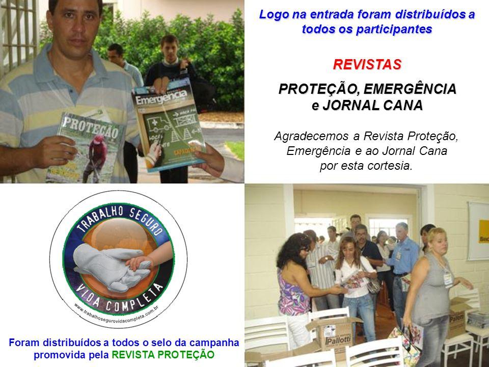 REVISTAS PROTEÇÃO, EMERGÊNCIA e JORNAL CANA