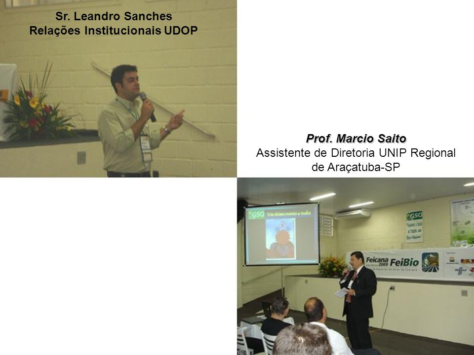 Relações Institucionais UDOP