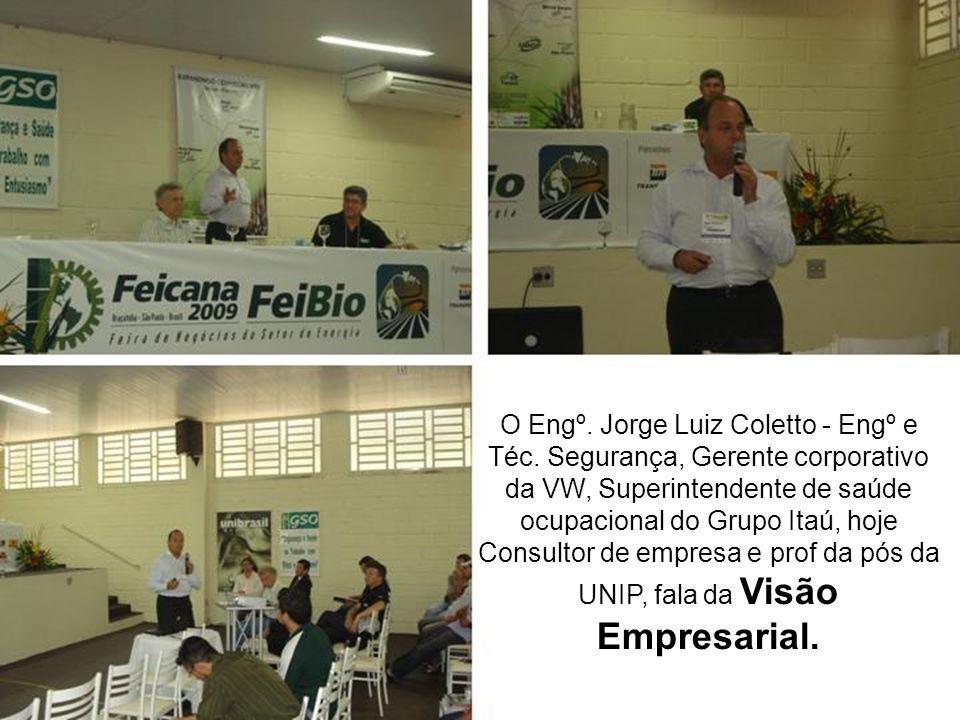 O Engº. Jorge Luiz Coletto - Engº e Téc
