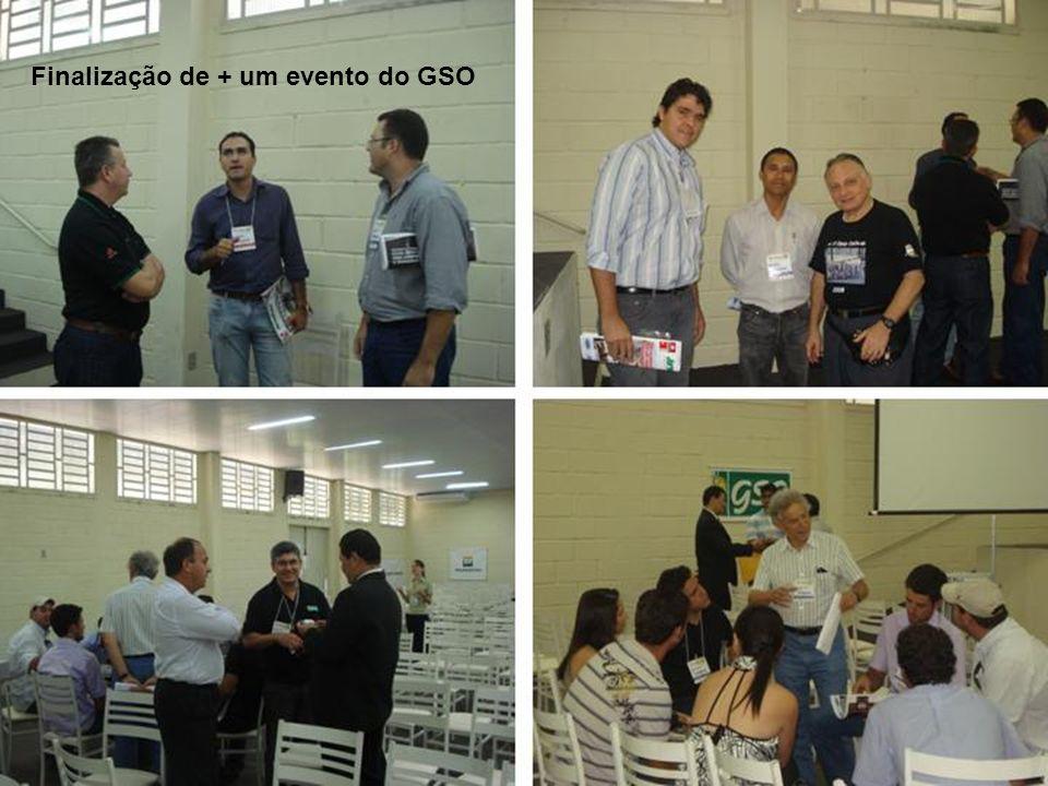 Finalização de + um evento do GSO