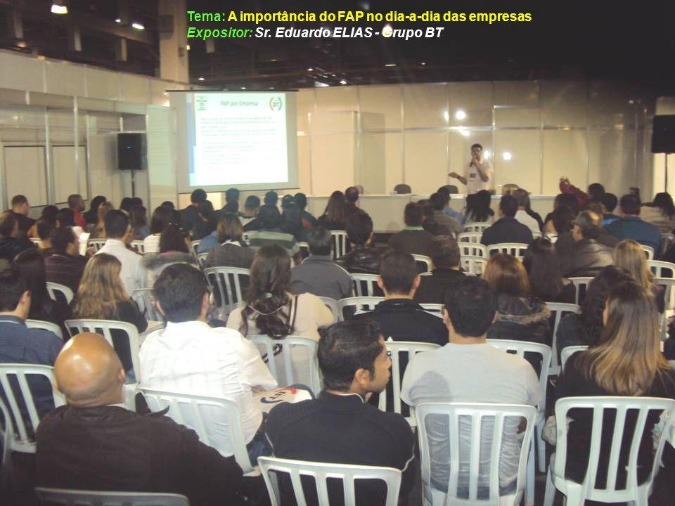Tema: A importância do FAP no dia-a-dia das empresas