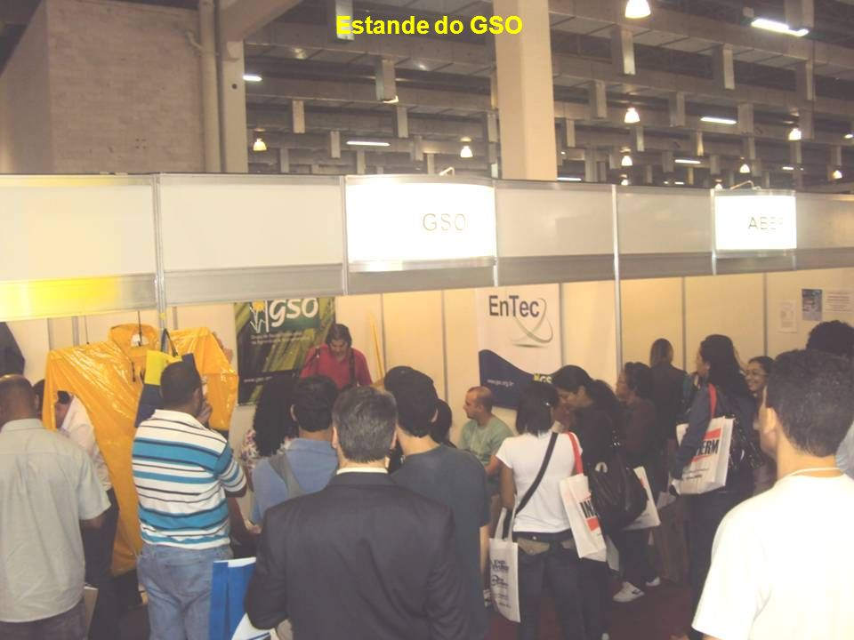 Estande do GSO