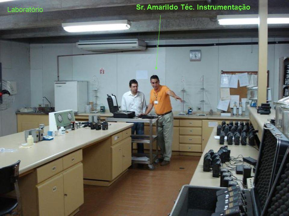 Sr. Amarildo Téc. Instrumentação