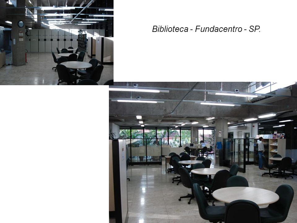 Biblioteca - Fundacentro - SP.