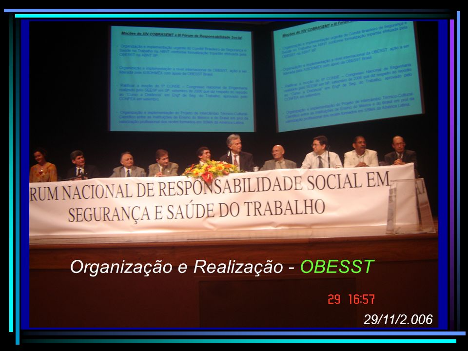 Organização e Realização - OBESST
