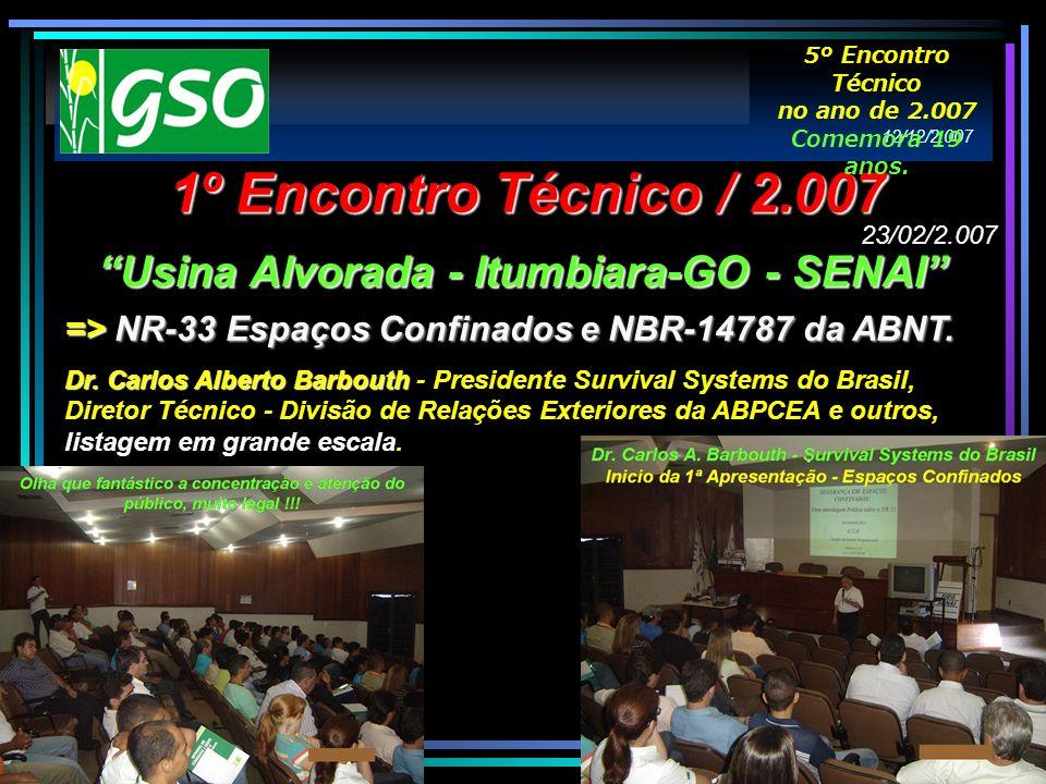 Usina Alvorada - Itumbiara-GO - SENAI