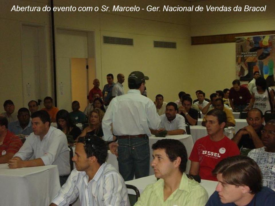 Abertura do evento com o Sr. Marcelo - Ger