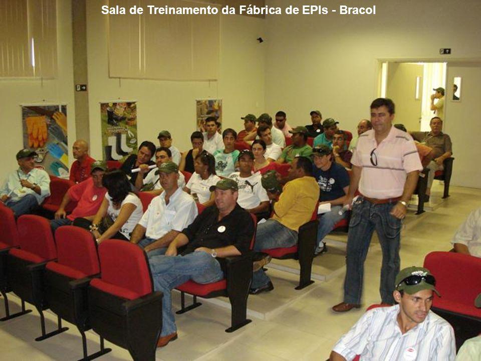 Sala de Treinamento da Fábrica de EPIs - Bracol