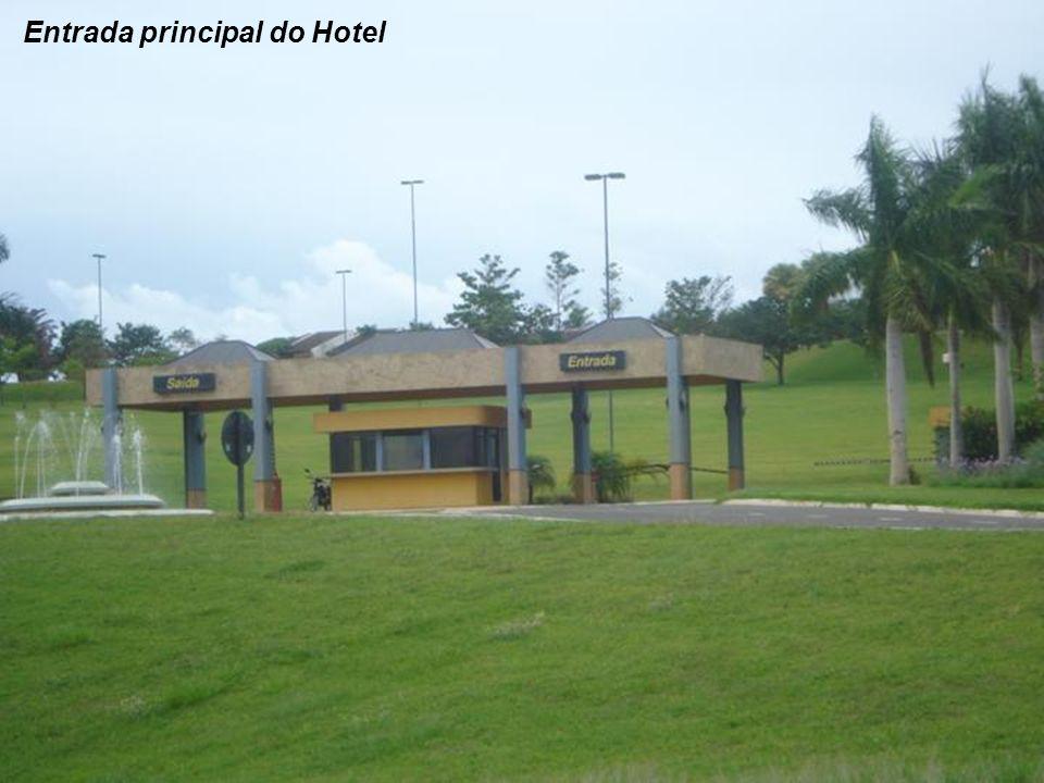 Entrada principal do Hotel