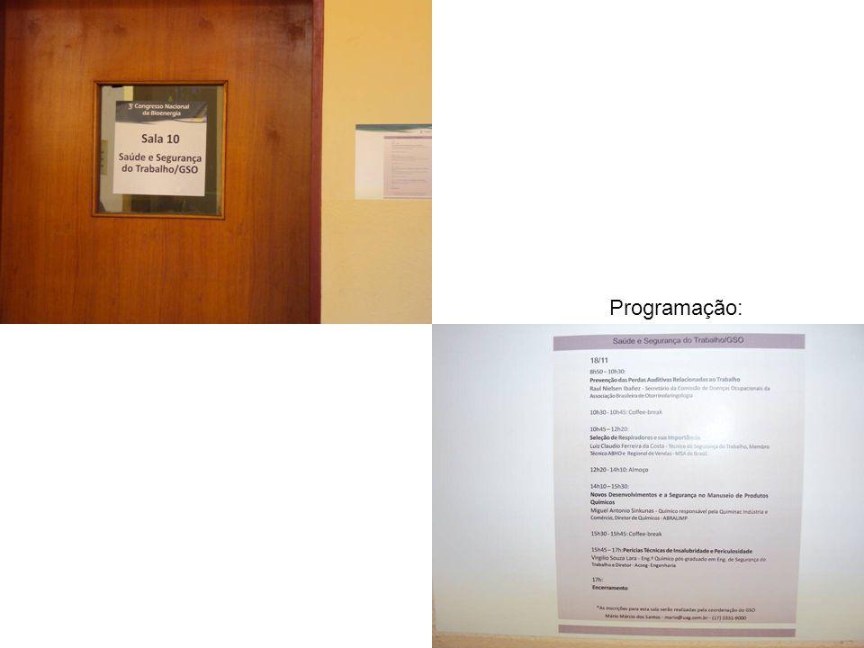 Programação: