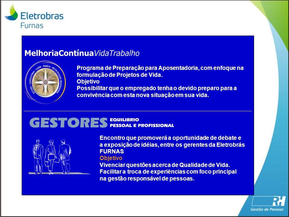 Programa de Preparação para Aposentadoria, com enfoque na formulação de Projetos de Vida.