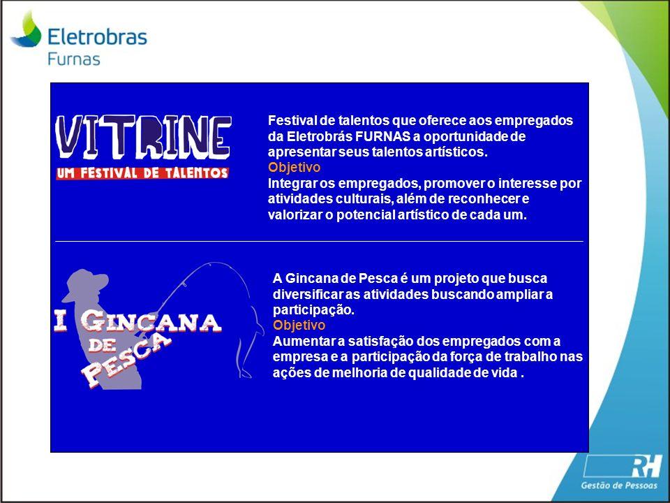 Festival de talentos que oferece aos empregados da Eletrobrás FURNAS a oportunidade de apresentar seus talentos artísticos.