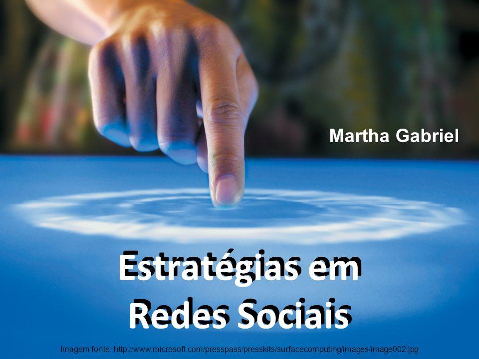 Estratégias em Redes Sociais Estratégias em Redes Sociais