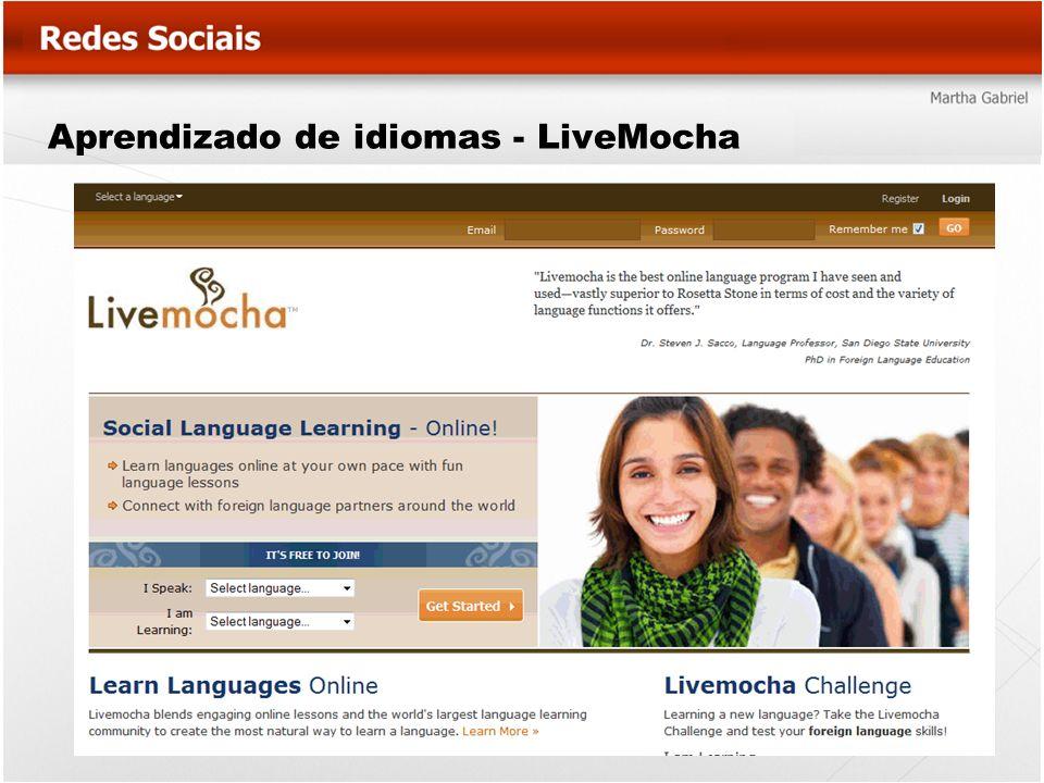 Aprendizado de idiomas - LiveMocha