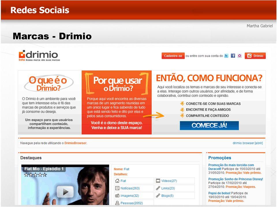 Marcas - Drimio