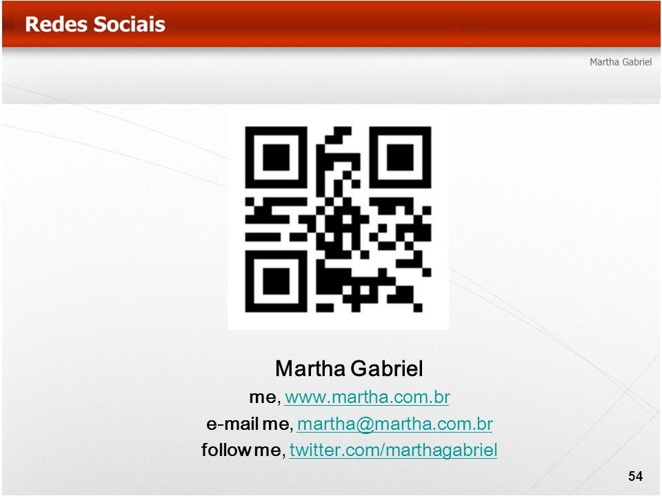 Martha Gabriel me, www.martha.com.br e-mail me, martha@martha.com.br