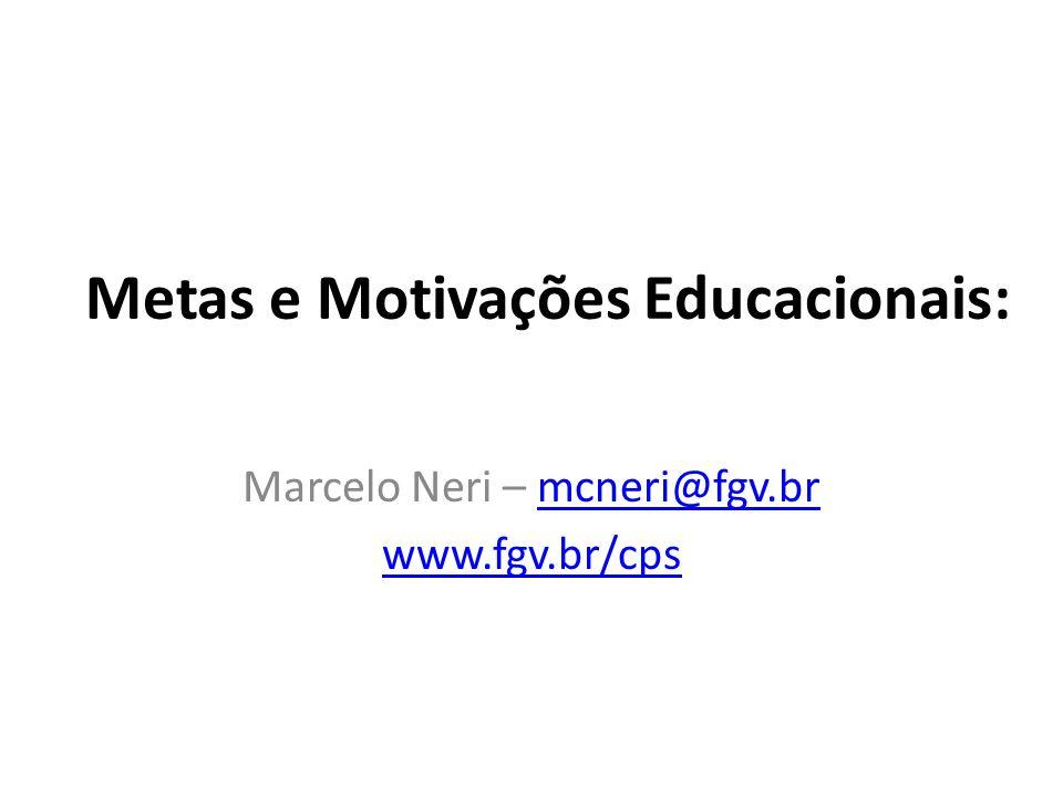 Metas e Motivações Educacionais: