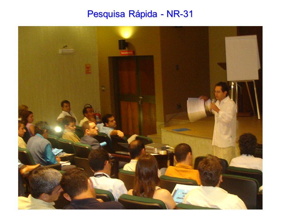 Pesquisa Rápida - NR-31
