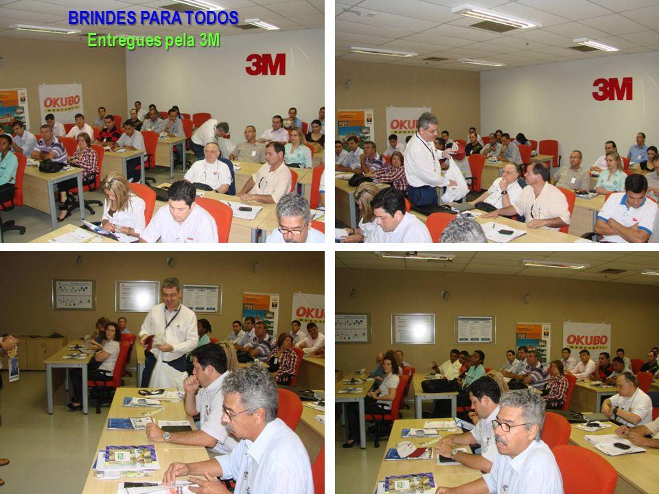 BRINDES PARA TODOS Entregues pela 3M