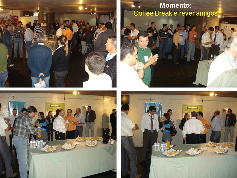 Coffee Break e rever amigos