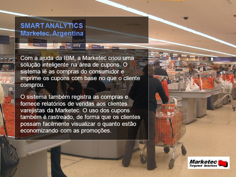 SMART ANALYTICS Marketec, Argentina