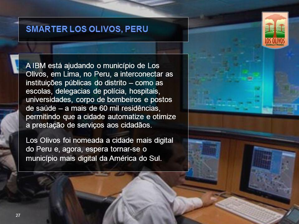 SMARTER LOS OLIVOS, PERU