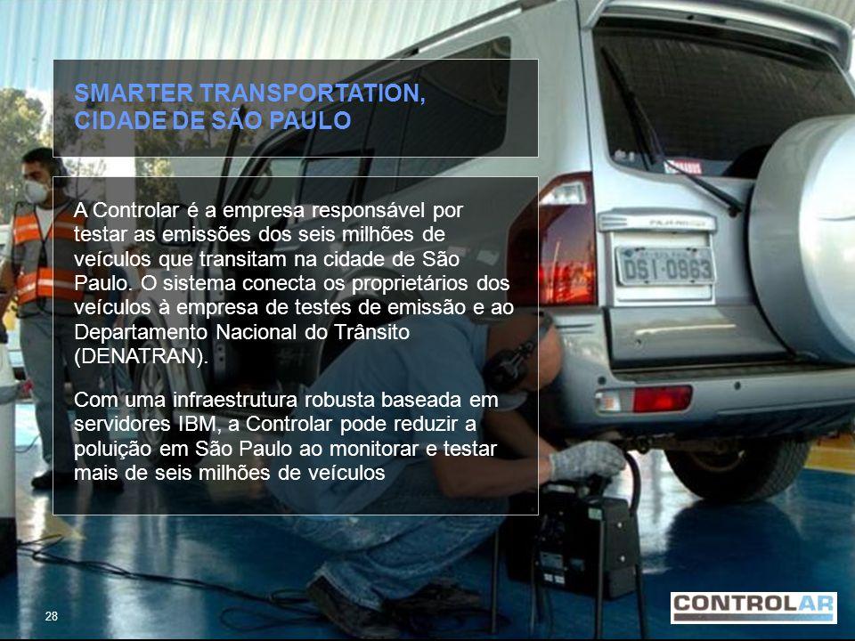 SMARTER TRANSPORTATION, CIDADE DE SÃO PAULO