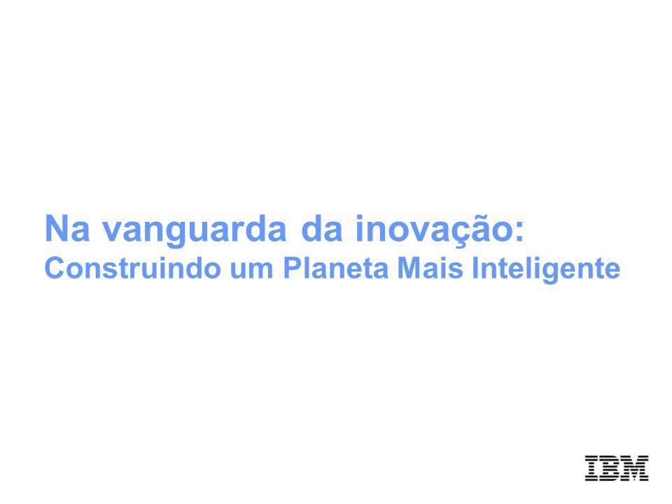 Na vanguarda da inovação: