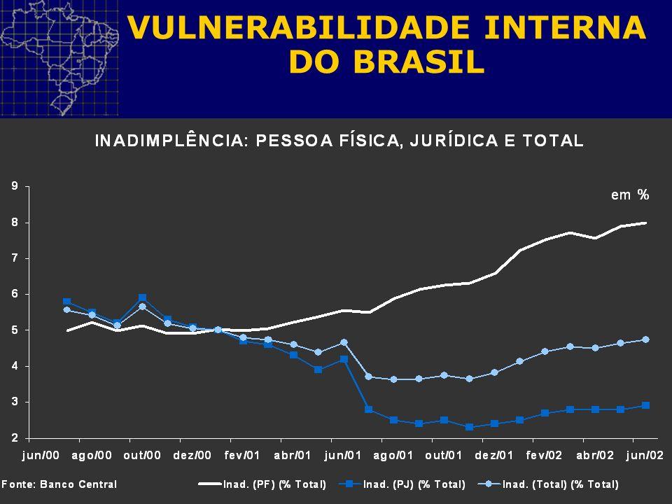 VULNERABILIDADE INTERNA DO BRASIL