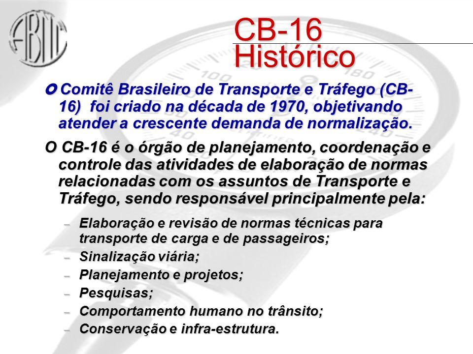 CB-16 Histórico