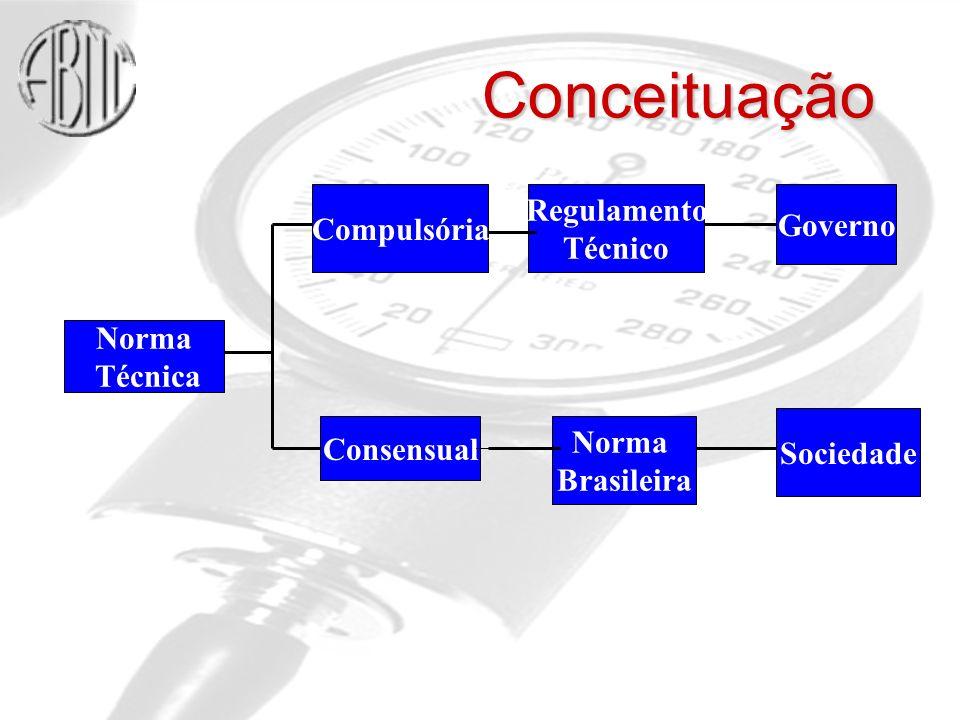 Conceituação Regulamento Compulsória Governo Técnico Norma Técnica