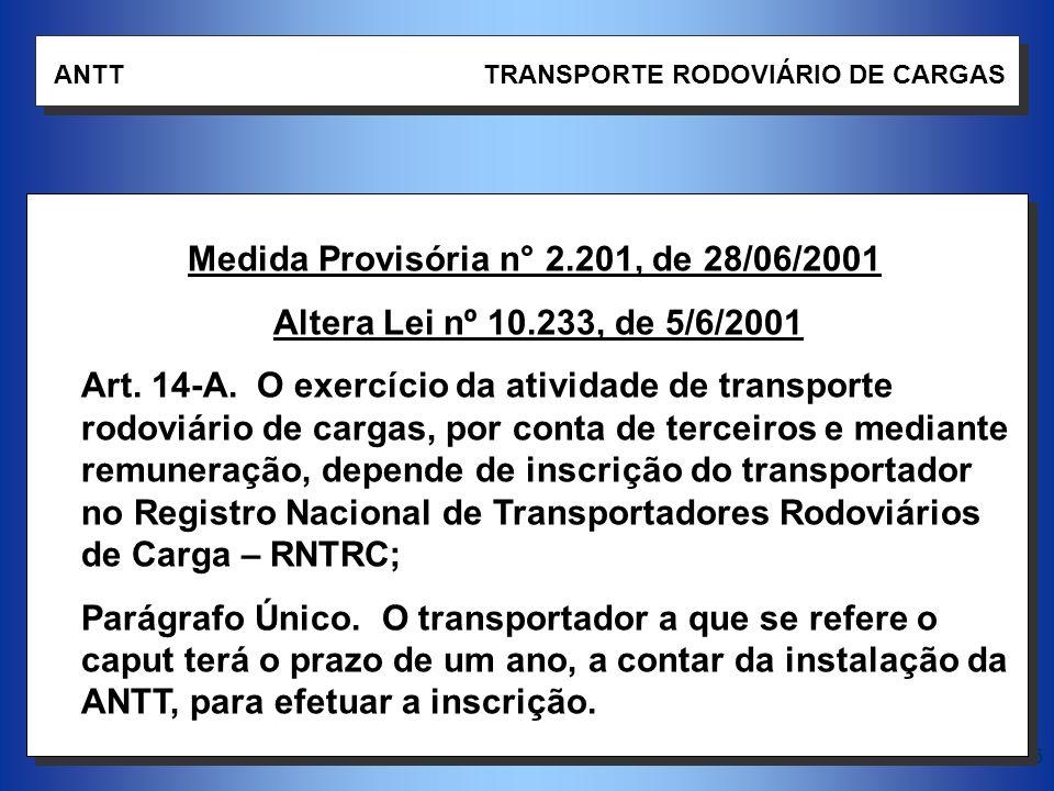 Medida Provisória n° 2.201, de 28/06/2001